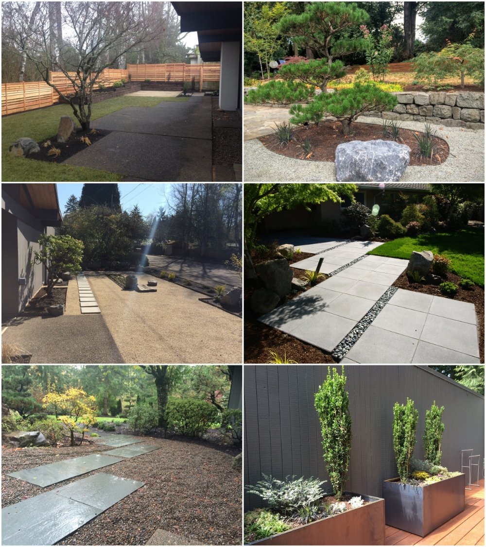 Modern landscape design portland oregon for Modern landscape design