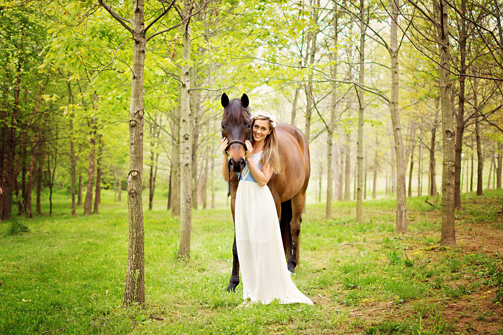 Courtney and Bentley of Hidden Hills Horse Farm