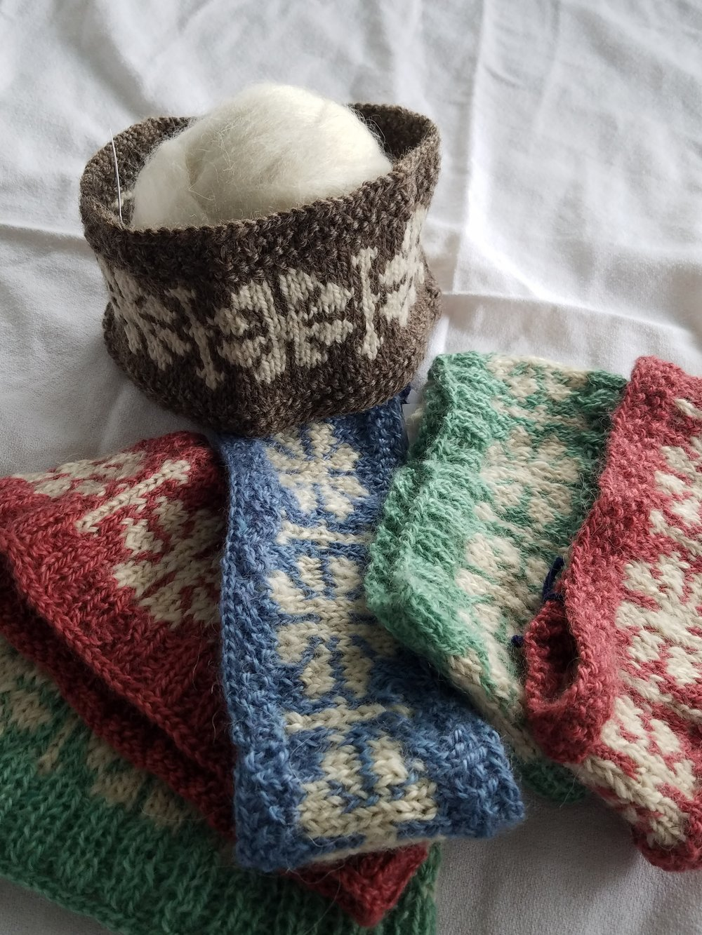 Handmade Snowflake Headbands