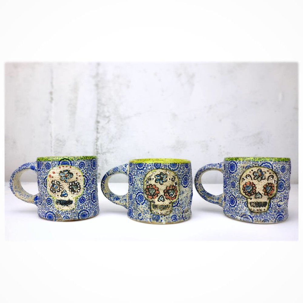 trio sugar skull mugs .jpg