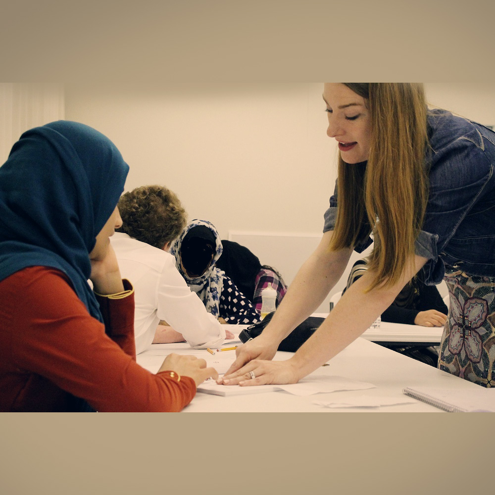 Your donation provides invaluable education to refugees in need