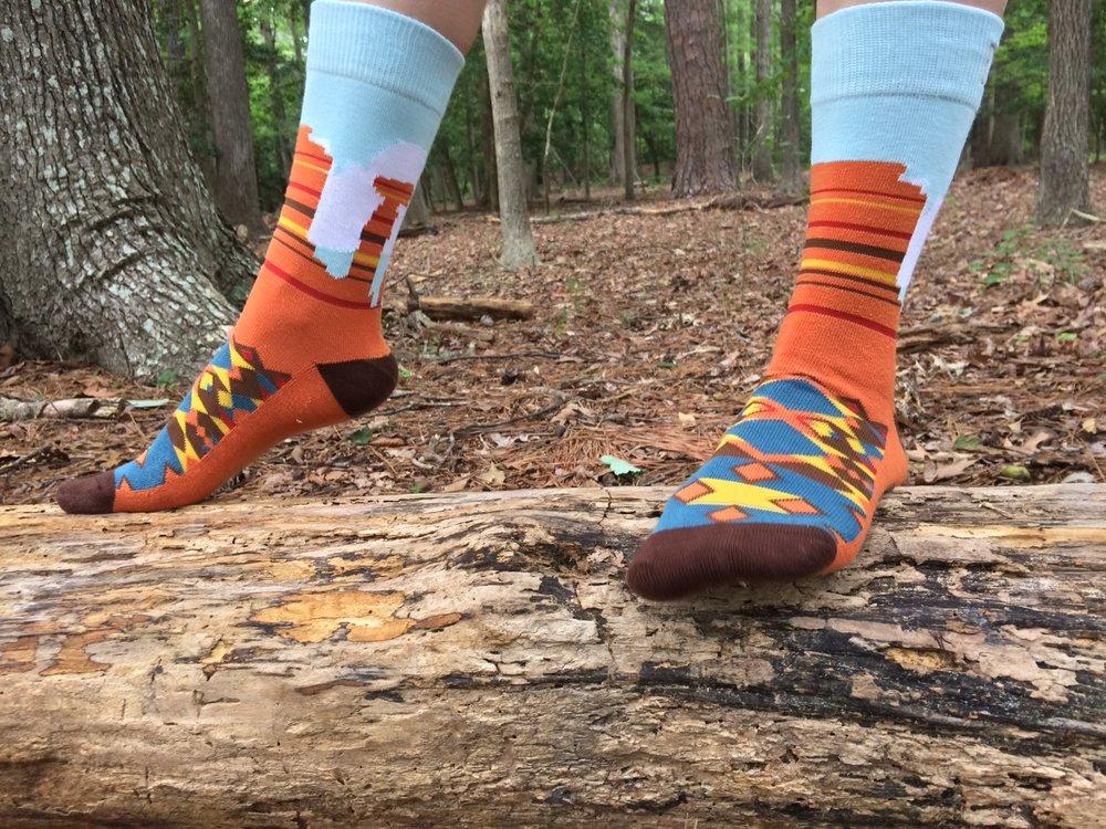 Keep It Simple Socks, Red Rocks Socks - Photo Credit: Jess Doutrich