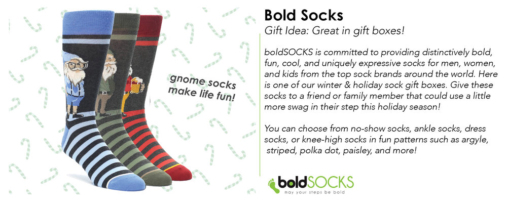 Photo Credit: boldSOCKS - Shop the Look:  boldSocks Website