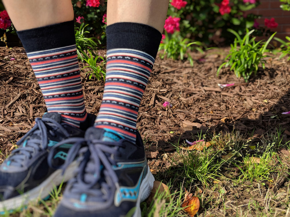 The Sock Review takes Feetures socks outdoors for a wear test - Photo Credit: The Sock Review