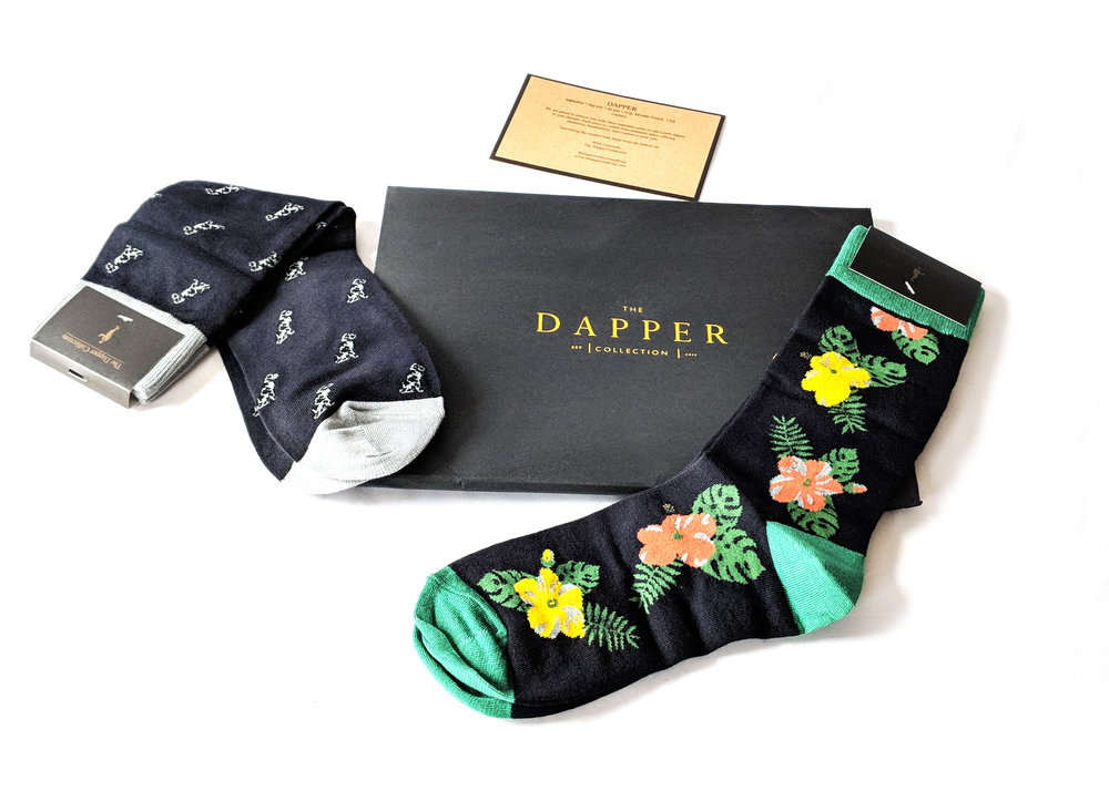 With The Sartorial Set, you can mix four designs to come packaged in their signature pack - would make an excellent gift idea. Photo Credit: The Sock Review
