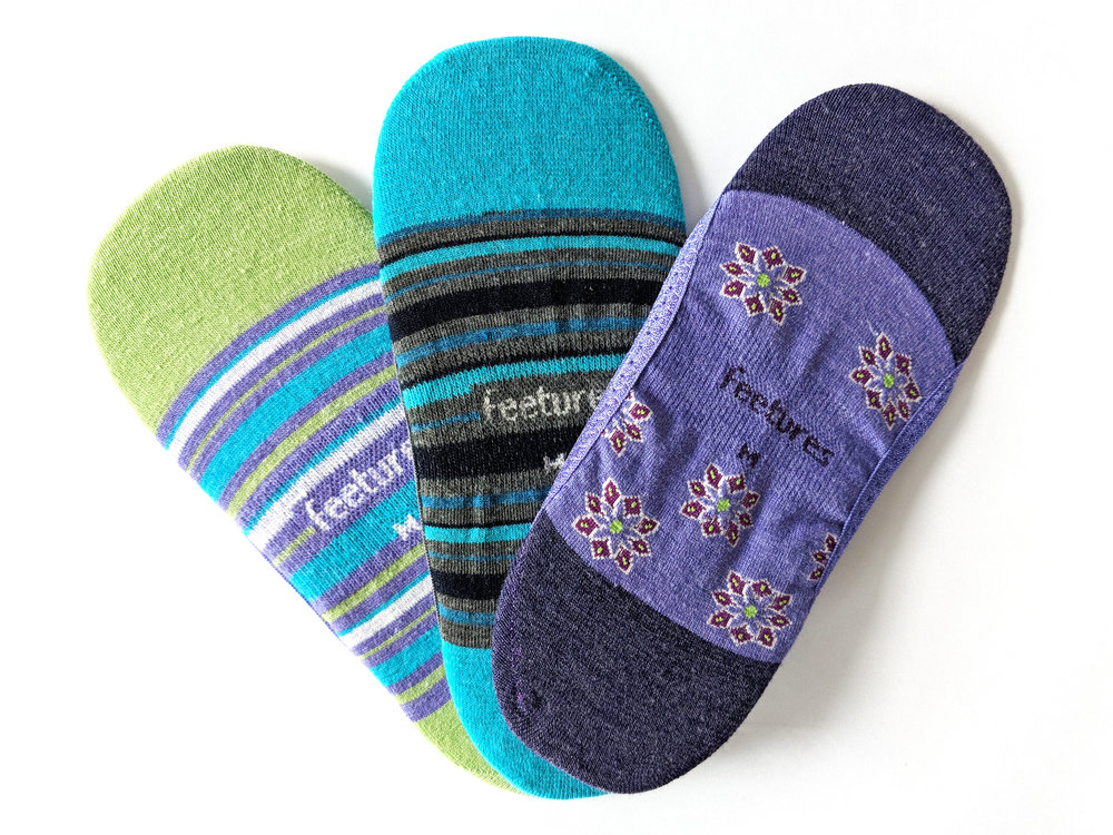 Just a taste of the collection, Women's Hidden socks. Photo Credit: TSR
