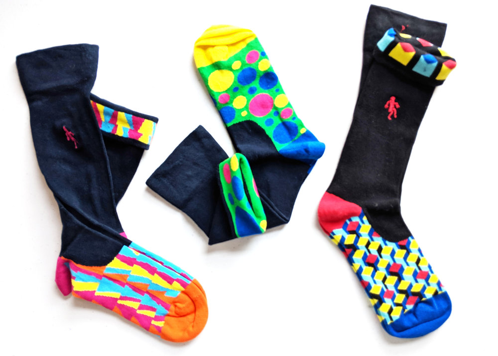 Shown here are some of our favorites from the QR Australia collection; how fun are these socks?! Loving the variety and color selections. Photo Credit: TSR