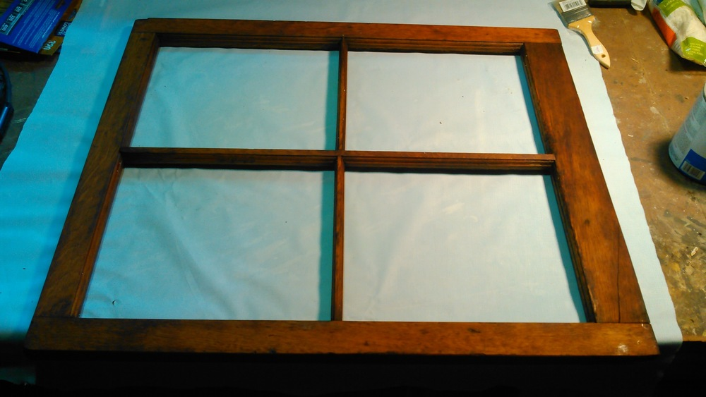 This is the barn window, post hardener, pre primer.