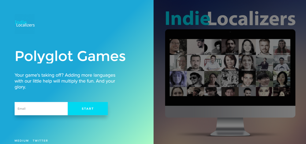 Our little signup page: http://indielocalizers.rightclick.io
