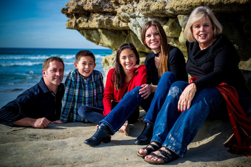 O'dell Family - Del Mar, Ca