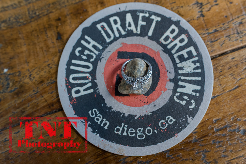 Heather & David - Del Mar & Rough Draft Brewing