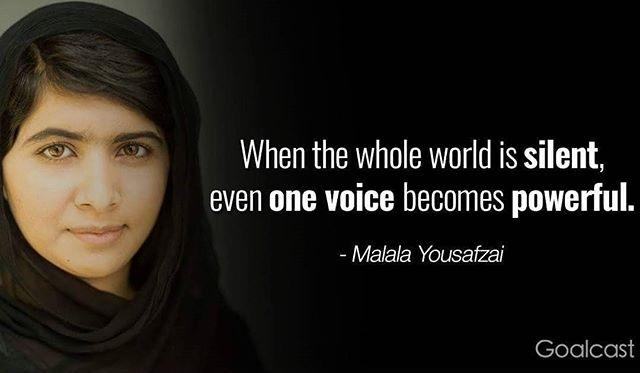 ❤❤❤ #WCW #humanrights #malala