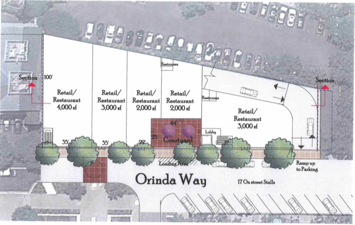 Renderings for a new development at 25 Orinda Way