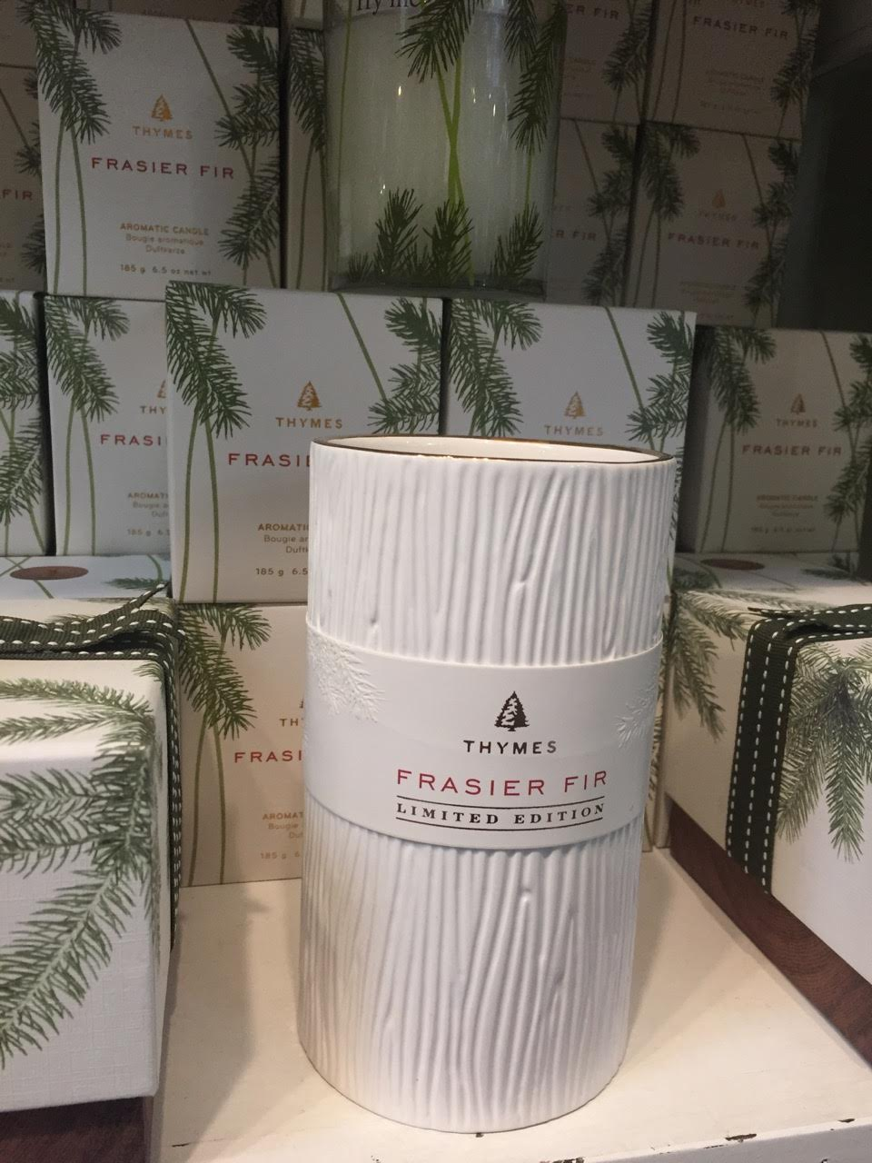 Frasier Fir goodies range from $9.99-$49.99.