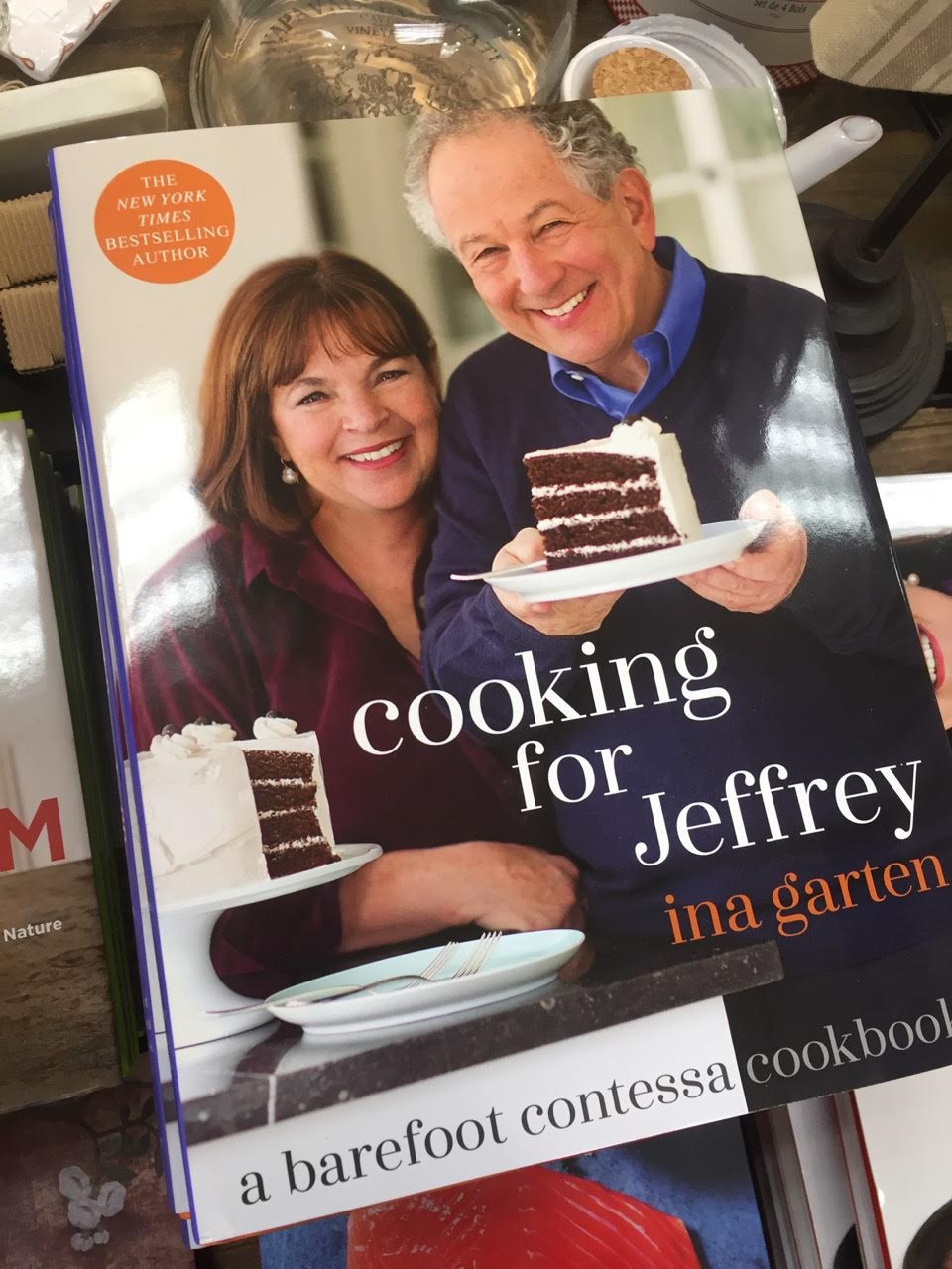 Ina's cookbooks never disappoint. $35