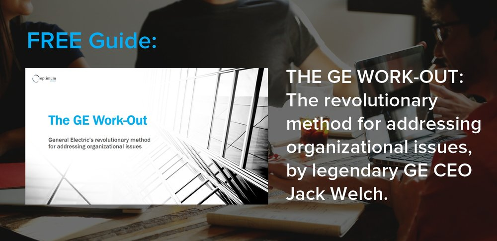 - Plan and implement ground-breaking improvements in your company with the revolutionary method legendary GE CEO Jack Welch used to grow General Electric's market value by 4,000%.This free guide gives a step-by-step framework how to apply the Work-Out with your company or clients.