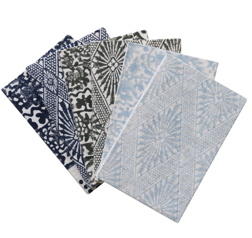 campana notebooks set/6 large -