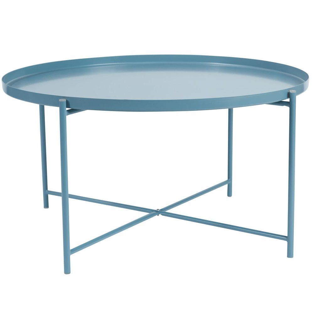 alto round tray coffee table - simple but effective