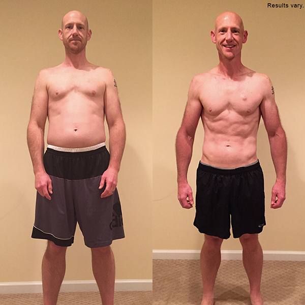"""Michael lost 8.5 pounds in 60 days with 21 Day Fix EXTREME and won $4,000!    """"  I am finally seeing definition in my abs, arms, back, and legs. I have found that the strength and cardio have improved my running style and increased my 5k and 8k times."""""""