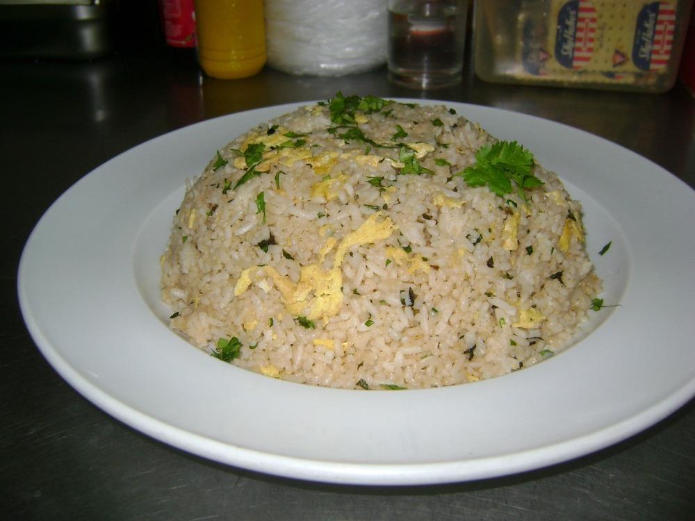 chicken cilantro fried rice