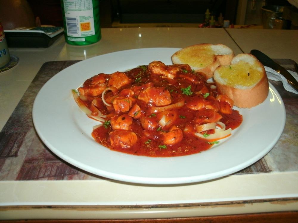 chicken al pomodoro