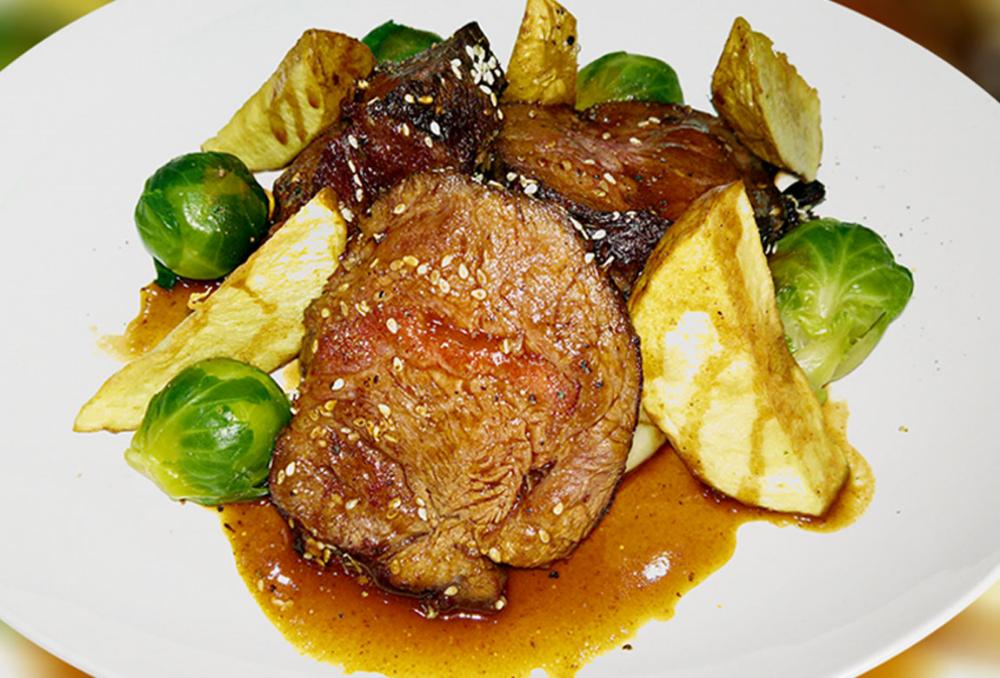 roast beef tataki