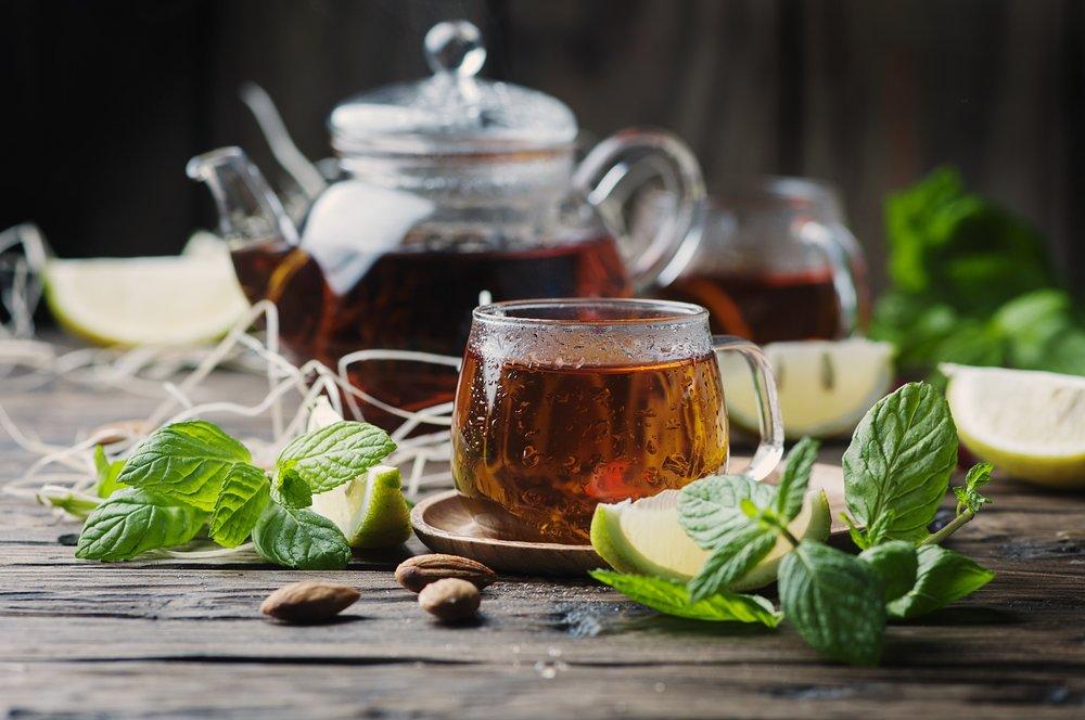Moroccan Breakfast Mint Tea