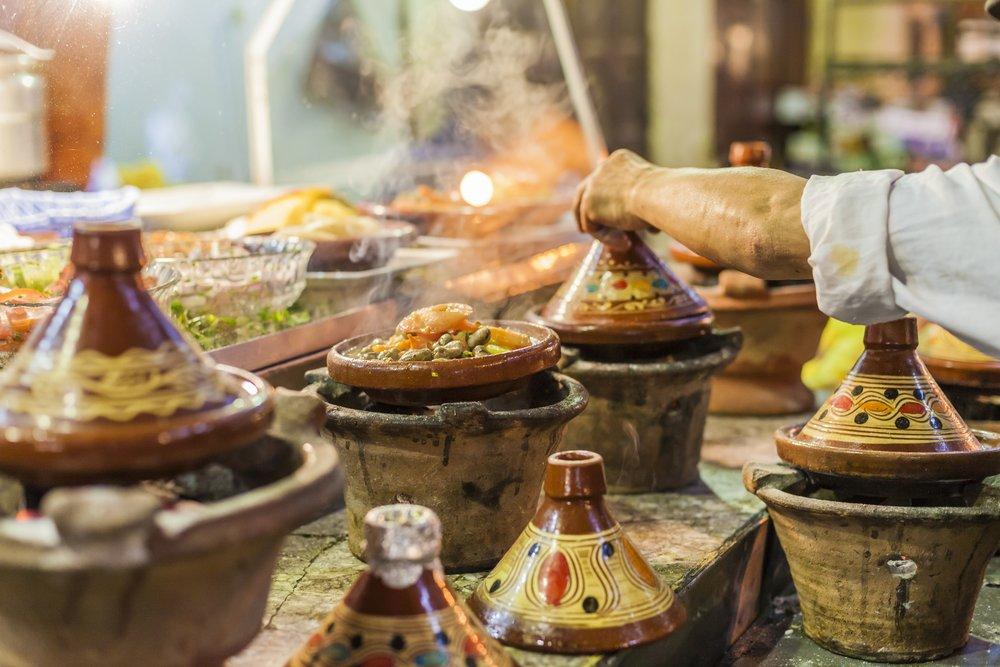 Moroccan M'qualli Cuisine