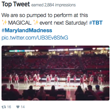 Top Tweet from October 2015.