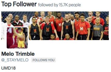 Top Follower from June 2015.