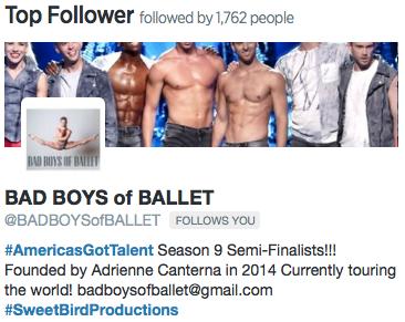 Top Follower from October 2015.
