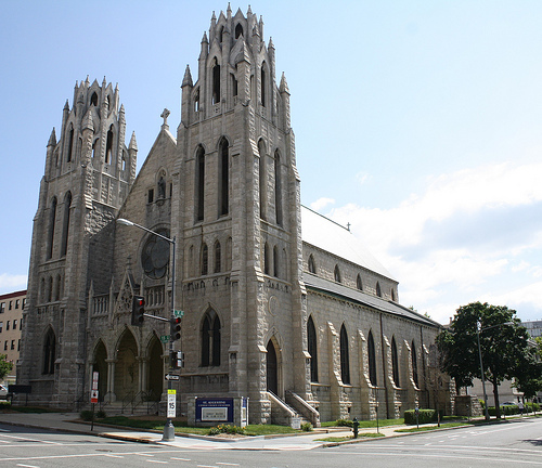 My family church is St. Augustine, the first black catholic church in Washington, D.C.