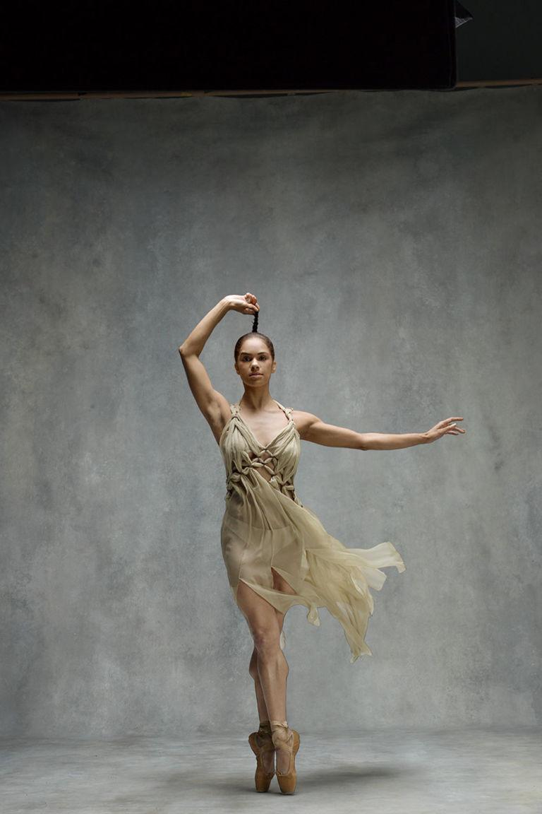 Photography: Ken Brower & Deborah Ory;  Alberta Ferretti  dress.