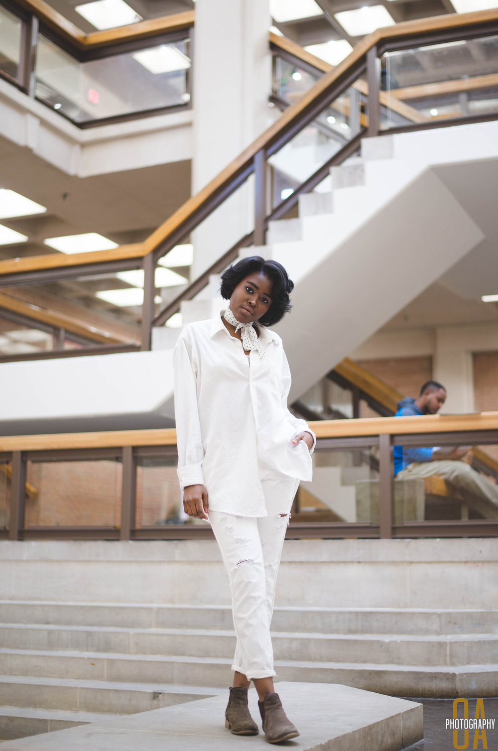 Photographer: Olasubomi Adesoye , Creative Director: Cheyenne Fogg & Chioma Agbaraji, Model: Mariama Bah