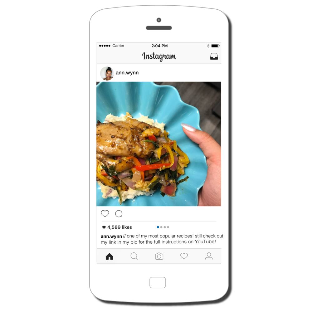 Instagram Carousel, Image and 3 Video Highlights