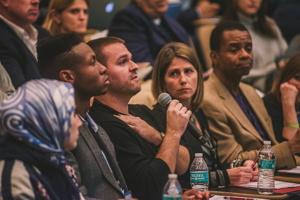 Judges of the Pitch Dingman Semifinals. Photo credit:  Dingman Center of Entrepreneurship