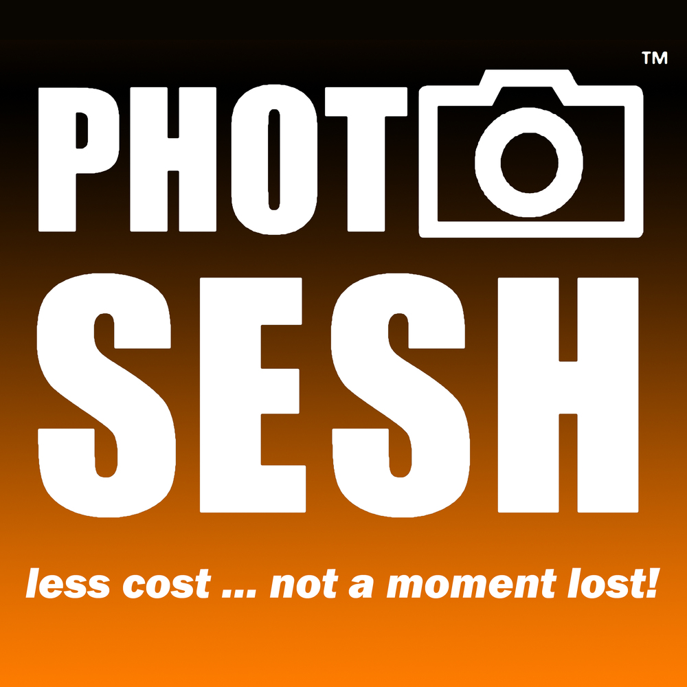 PhotoSesh Logo with Slogan