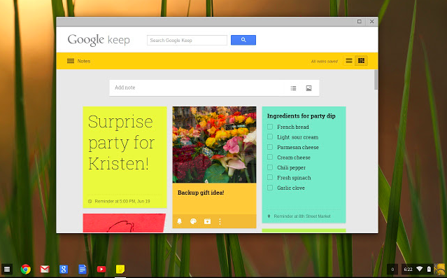 Photo Credit: Google Keep
