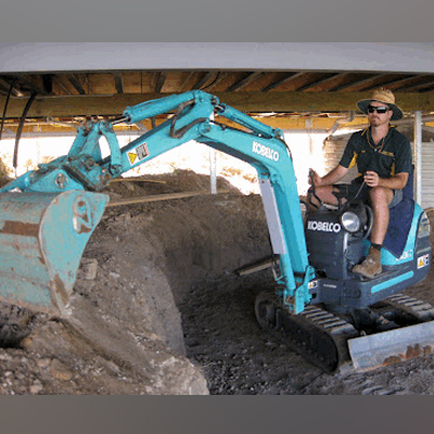 Micro Excavation Learn more...