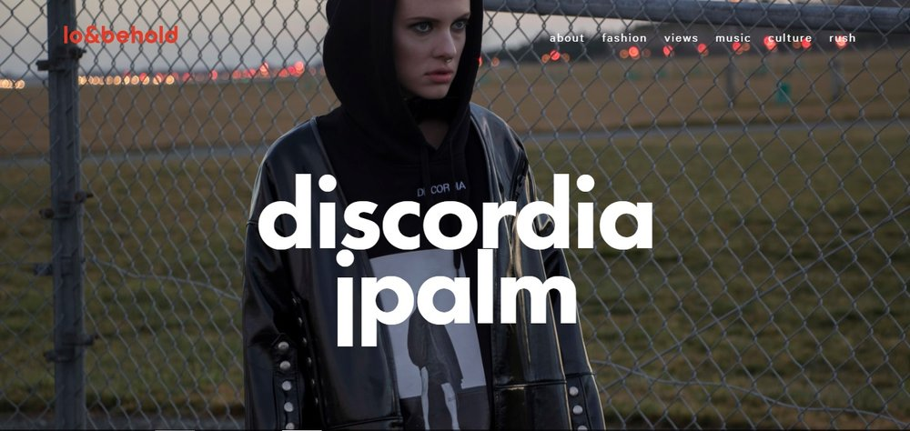 "Loandbehold.nz 2016 ""Standing out from the sea of neon colour palettes at NZFW's first 'New Grads' sections was JPalm's 'Discordia', a brooding black sheep. Words & Interview by Lara Daly"