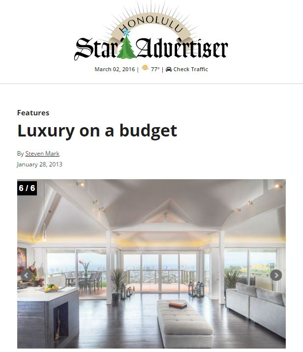 Star Advertiser 2012
