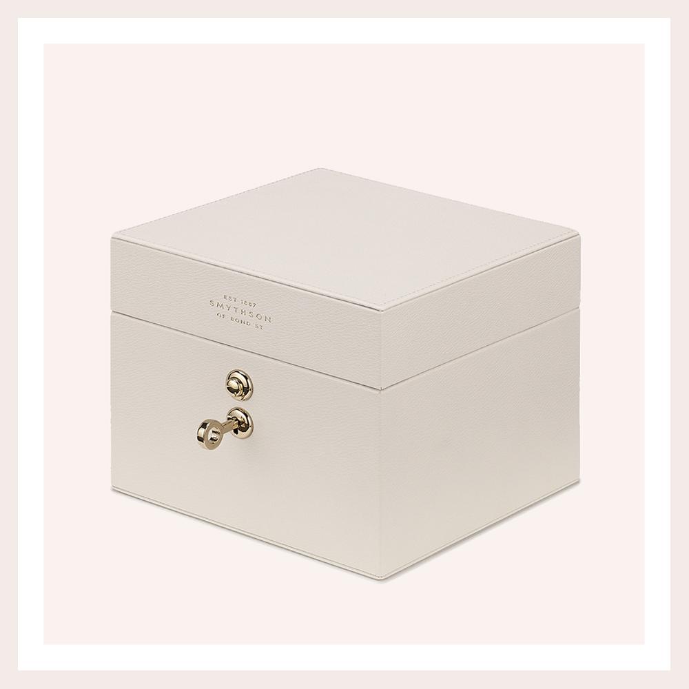 SMYTHSON MINI JEWELLERY BOX - A true classic to invest in. Enough said...