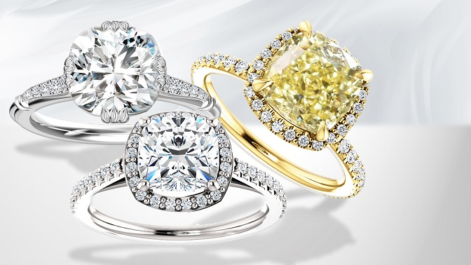 BROWSE OUR ENGAGEMENT RING DESIGNS - All bespoke, all handmade in London.