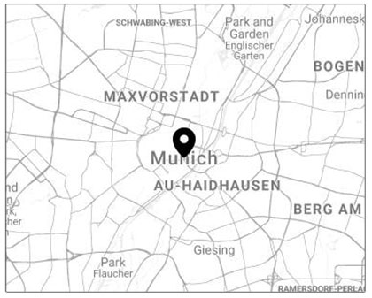 Munich - Germany - To book a complimentary consultation with Emi in Munich, please send us an email with your enquiry.