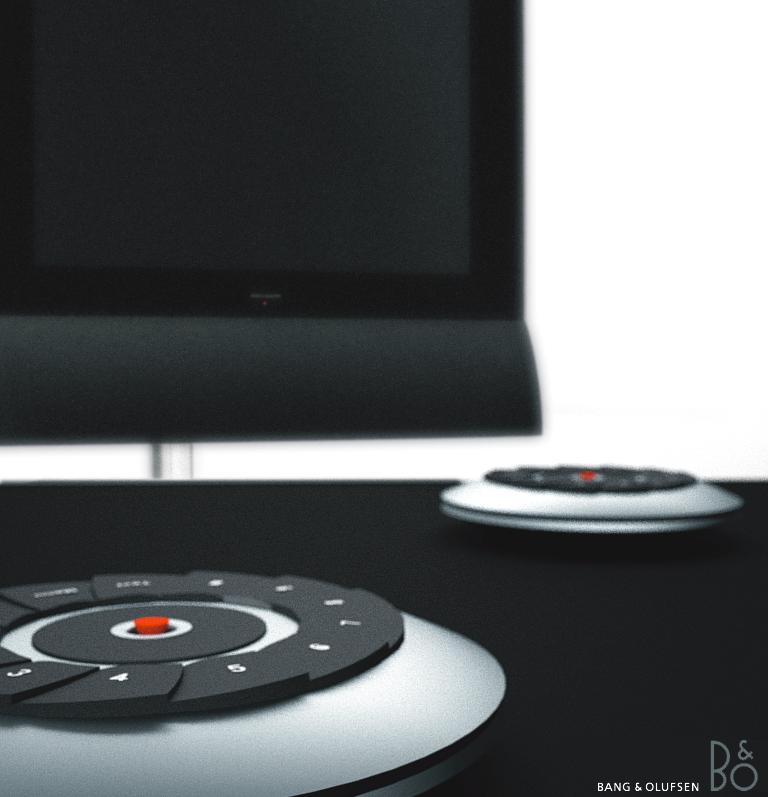 Kreisrunde System-Fernbedienung & Poster Design Tolga Tuncer