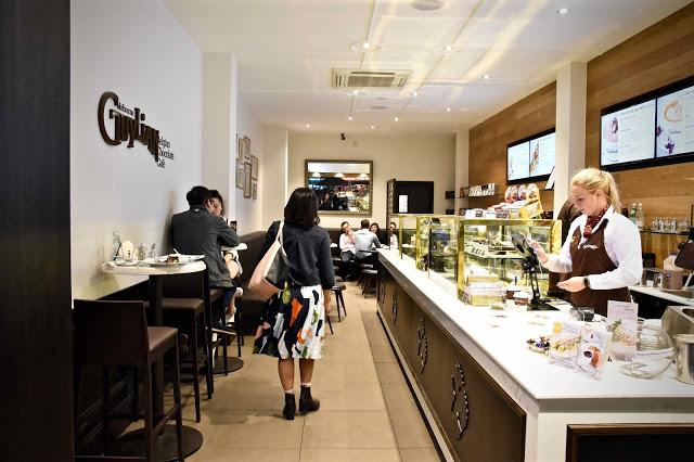 Cotta Cafe Melbourn : Guylian belgian chocolate café has arrived in melbournes cbd