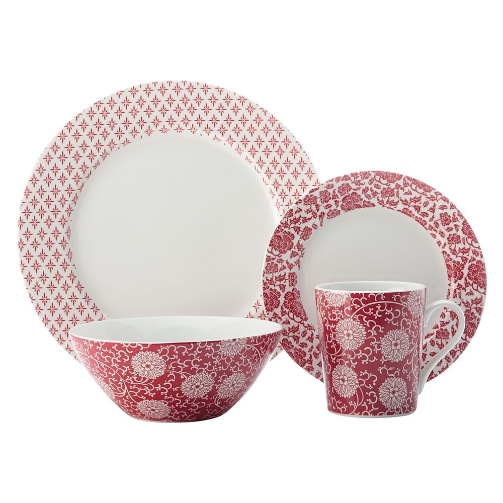 Irresistibly exotic the porcelain Orient Red 16-Piece Dinner Set from Maxwell u0026 Williams is a romantic addition to any home.  sc 1 st  Gastrology & Orient Red Dinner Set by Maxwell u0026 Williams u2014 Gastrology