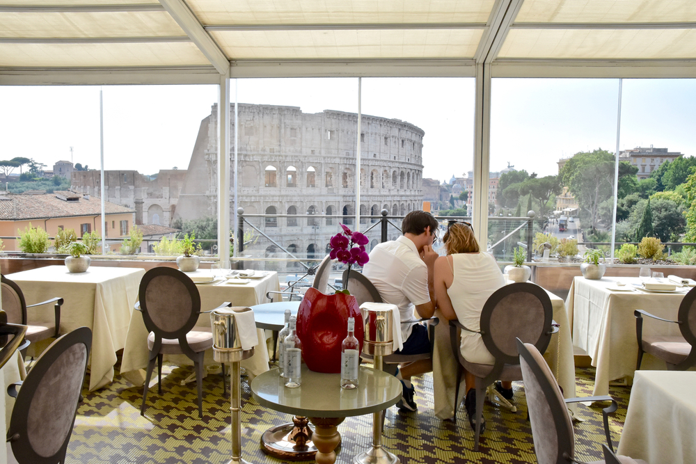 Aroma Rome Michelin Star Classic Italian Dishes With