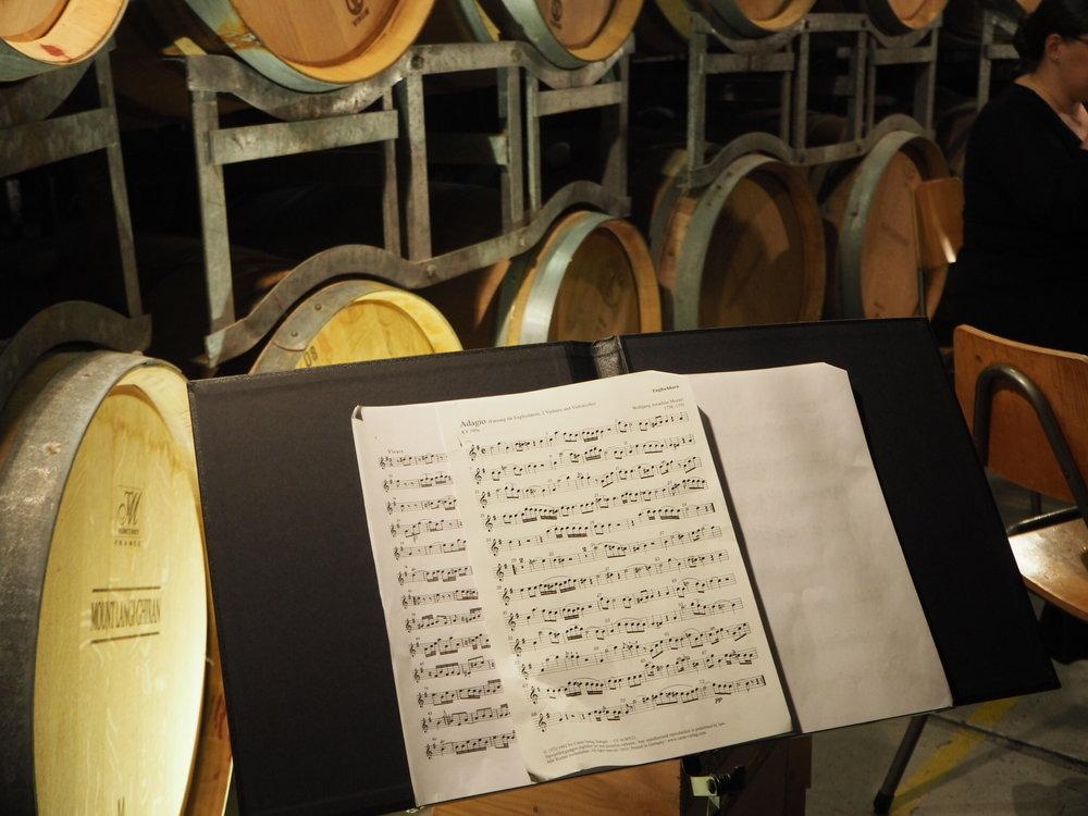Adagio Mozart and Wine barrels - Langi.jpg