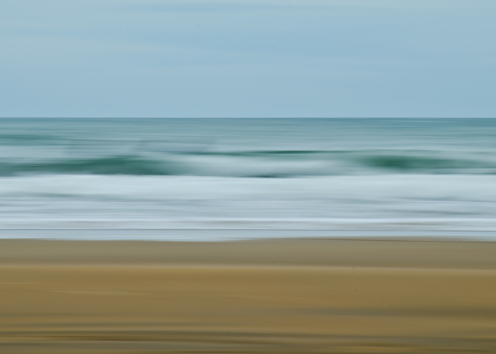 Sandymouth Beach Abstract